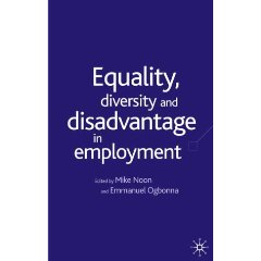 Equality, Diversity and Discrimination in Employment